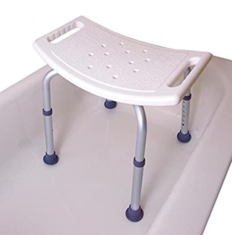 Home Care Patient Bath Safety Tub Chair Shower Seat Bench Without Back