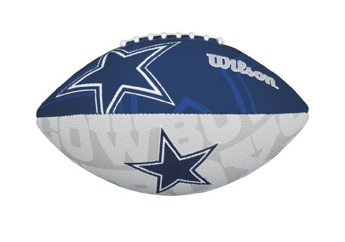 Wilson NFL Dallas Cowboys Junior Logo Football