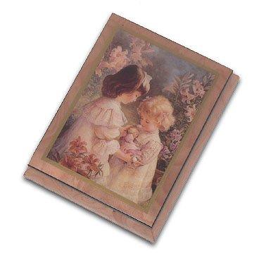 MusicBoxAttic 'Love-ercolano Box by Brenda Burke, 182. I Saw Mommy Kissing Santa Claus (Box Music Claus Santa)