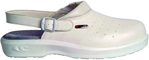 Cofra NEW Kevin SB E A FO SRC par de zapatos de seguridad talla 35 BLANCO