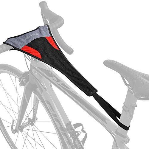 Ciclismo Bici Bicicletta Sweatband Trainer Sweat Net Bike Nastro di Formazione a Prova di Sudore Protezione Telaio Accessori per Biciclette,1