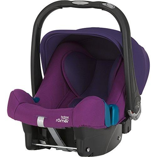 Britax Römer Babyschale BABY-SAFE PLUS SHR II, Gruppe 0+ (Geburt - 13 kg), Kollektion 2017, Mineral Purple