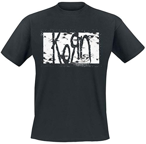 Korn Gritty Rectangle Logo T-Shirt schwarz XL -