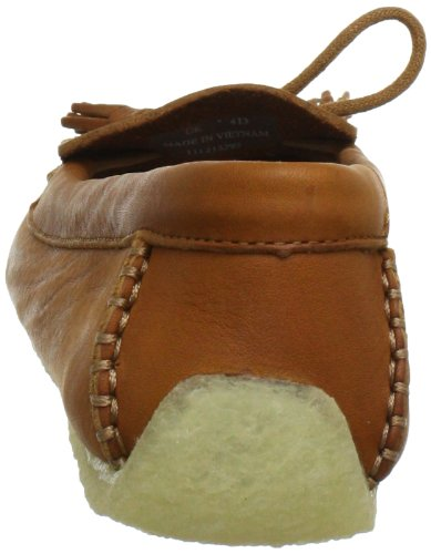 Clarks Sylvie Chic 20352781, Damen Slipper, Braun (Cognac Leather), EU 35.5 -