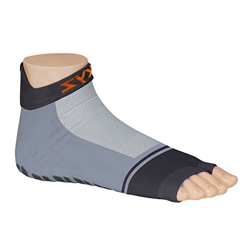 Sweakers® Basic Grey Anti-Rutsch Schwimmsocken (19 - 22)