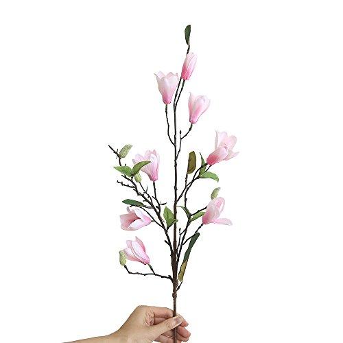 VWTTV künstliche künstliche Blume Blätter neun Kopf Magnolie Landung künstliche Blume gefälschte Blume Magnolie Blume Hochzeitsstrauß Partei Hauptdekoration
