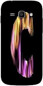 Snoogg Flaming 3D Letter Designer Protective Back Case Cover For Samsung Gala...