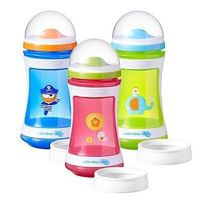 two-stage-drinker-24-m-da-400-ml-explora-tommee-tippee-bpa-free-pink-bird-design-ha-un-convertitore-