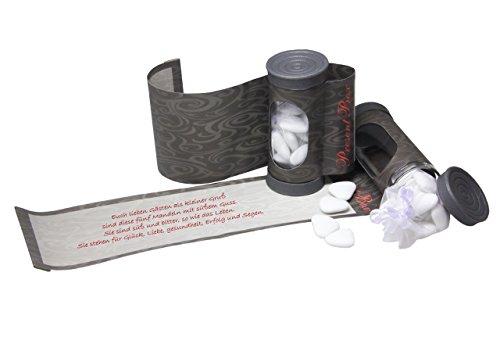 Present Box Geldgeschenkverpackung zum Geld verschenken und weitere Kleinigkeiten. Runde Verpackung für Geld Geschenke - 6