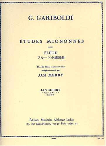 Gariboldi: études mignonnes op131 flûte por Giuseppe Gariboldi