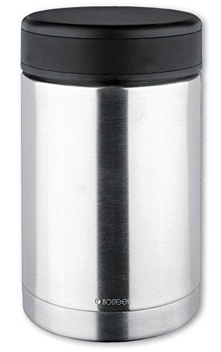 Isosteel Isolierbehälter für Lebensmittel, Edelstahl, 0,5 Liter