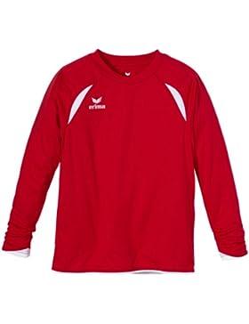 erima Trikot Tanaro langarm - Camiseta de equipación de fútbol para niño, color rojo / blanco, talla 12 años (...
