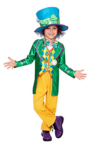 Rubie's Official Boy's Disney Alice in Wonderland Mad Hatter Costume - Large