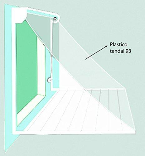 Tendal 93 - Plastico De Tendal 93 200 Cm, Medidas 2M, Color Transparente