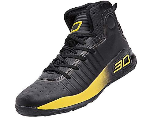 Botas de baloncesto Calzado deportivo al aire libre Zapatillas casuales Material: 1. El material superior es hecha de alto pelado cuero (KPU + FABRIC), es ligero, resistencia al desgaste, resistencia al calor, tenacidad, resistencia al frío, resisten...