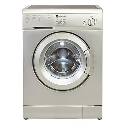 White Knight WM126VS 6kg A+ Washing Machine in Silver by White Knight
