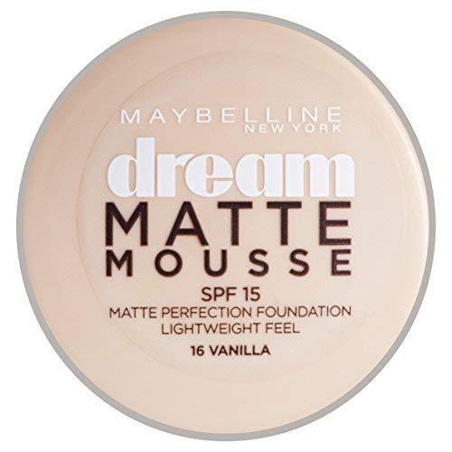 Maybelline Dream Matte Mousse Foundation 16 Vanille 18ml von Maybelline -