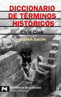 Diccionario De Terminos Historicos/ A Dictionary of Historical Terms par COOK