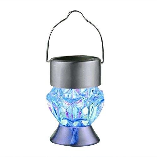 Prom-near Led Solarleuchten Garten Gartendeko Mehrfarbig Solar Wasserdichte Außen Solarlampen für Garten Cafe Hochzeit
