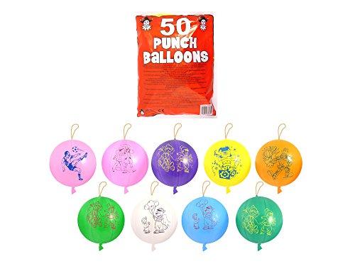 Punching Balls Luftballons, 50 Stück