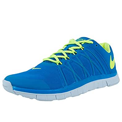 Nike Mens Free Trainer 3. 0, PHOTO BLUE/VOLT-WHITE, 8. 5 M US