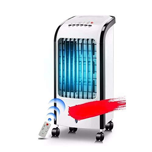 SWB Ventilatore oscillante Tre-in-Uno con climatizzatore temporizzato a Controllo remoto, umidificante e idratante
