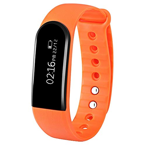 Dawwoti Id101Hr Smart-Armband Bluetooth 4.0 Herzfrequenz-Tracker-Armband Fitness-Monitor
