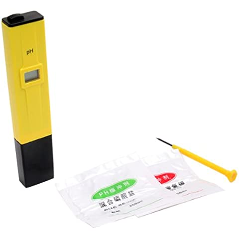 Big pH Bargain Digital Meter Tester 2 Sacchetti di calibrazione
