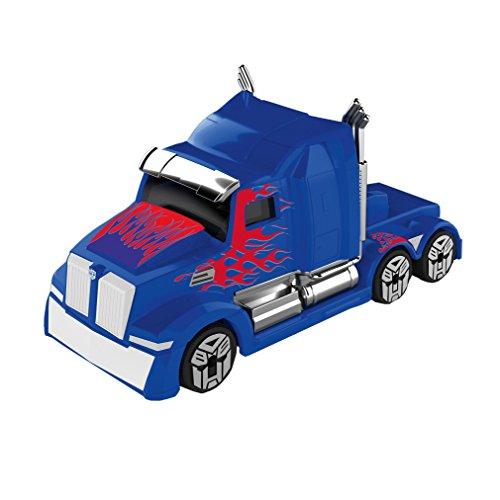 Dickie Toys 203111006–Transformers M5Optimus Prime, Miniatura Vehículo, Juguete Auto con piñón Libre, Die-Cast, 1: 64, 6cm
