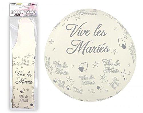 ballon-geant-mariage-tocadis-blanc