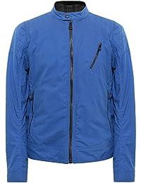 Belstaff Hombres chaqueta cazadora de un corredor Cobalto Oscuro