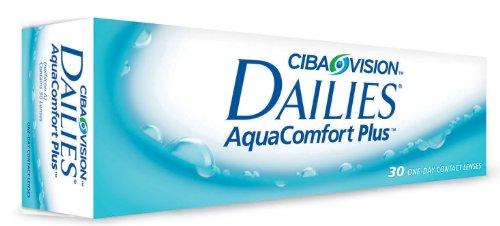 Dailies Aquacomfort Plus, 10er Plus Tageslinsen weich, 10 Stück / BC 8.70 mm / DIA 14.00 mm / -4 Dioptrien