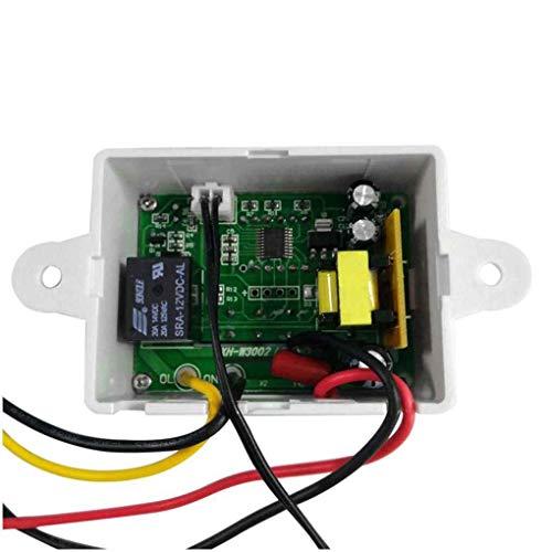 Busirde 12V 24V 220V Professionelle W3002 Digital LED-Temperaturregler 10A Thermostatregler -
