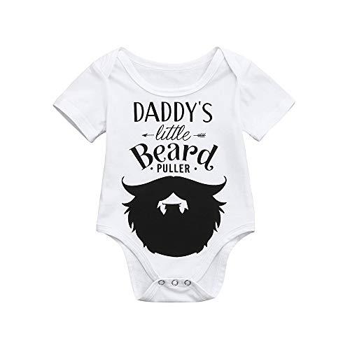 Obestseller Mädchenbekleidung,Niedlichen Neugeborenen Kinder Baby Brief drucken Jungen Mädchen Outfits Kleidung Strampler Overall,Sommerkleidung,Unisex