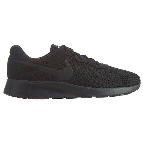 Nike Damen Tanjun Sneaker, Schwarz (Black/Black-White), 39 EU (Schuhe Frauen Nike)