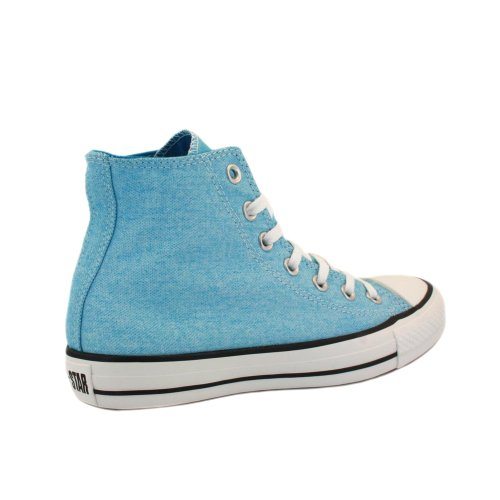 Converse Chuck Taylor All Star Wash Neon Hi, Baskets mode femmes Neon Bleu