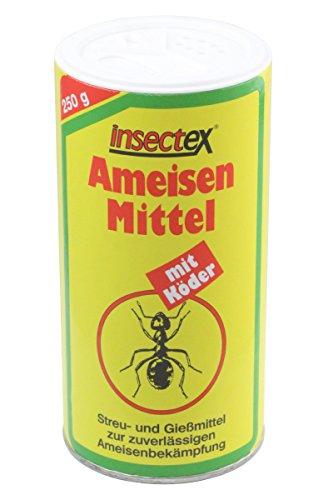 Insectex® Ameisen Mittel mit Köder 250g - Streu- und Gießmittel Ameisengift