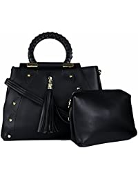 RICKYY Stylish Handbag And Sling Side Bag Purse With Adjustable Strap For Women And Girls - Black, Blue, Tan And...