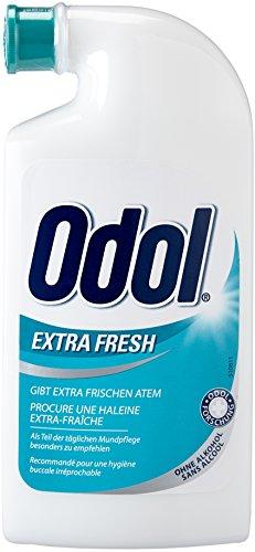 Odol-med 3 Mundwasser extra frisch, 125ml, 2er Pack (2 x 125 ml)