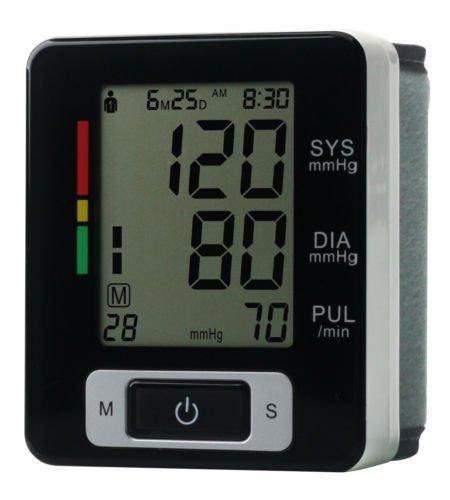 Lychee Die automatische Digital-Handgelenk-Blutdruck -Monitor Ober Herz-Schlag-LCD-Bildschirm (Digital Trennen)