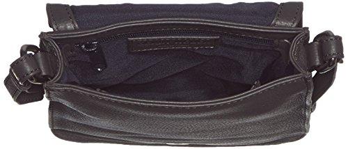 GERRY WEBER Los Angeles II Flap Bag S, Borsa a tracolla donna Grigio (Grau (dark grey 802))