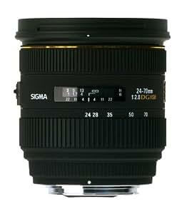 Sigma 24-70 mm F2,8 EX DG HSM-Objektiv (82 mm Filtergewinde) nur für Sigma-Kameras Objektivbajonett
