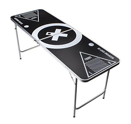 Beer Pong Tisch - Audio Table Design - Beer Pong table inkl. 6 Bälle und Regelwerk