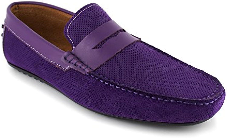 Mocasín J.Bradford Cuero Violeta  Zapatos de moda en línea Obtenga el mejor descuento de venta caliente-Descuento más grande