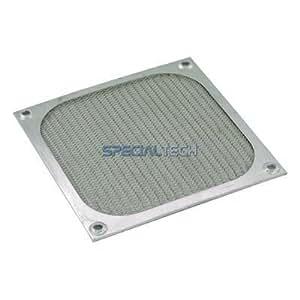 Aluminium Fan Filter for 120mm Case Fans : Silver