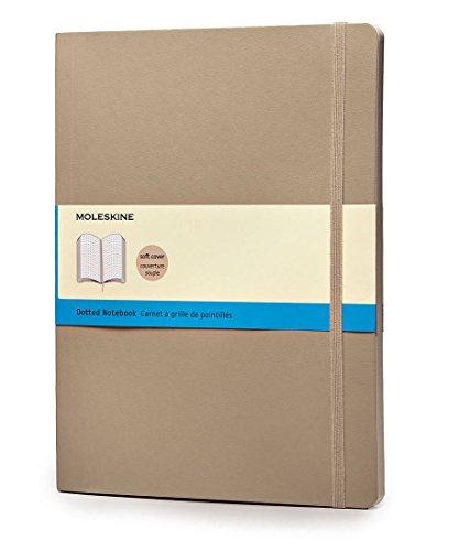 Moleskine Notizbuch, Xlarge, Punktraster, Soft Cover, Khaki (Moleskine Notebook-design)