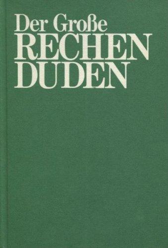 Buchcover: Der Große Rechenduden