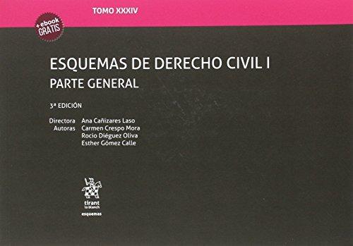 Tomo XXXIV Esquemas de Derecho Civil I Parte General 3ª Edición 2017