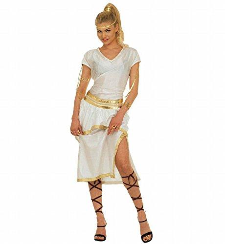 Widmann 37281 - Erwachsenenkostüm Athena, Kleid, Gürtel und Bänder, Gröߟe (Athena Ideen Halloween Kostüm)