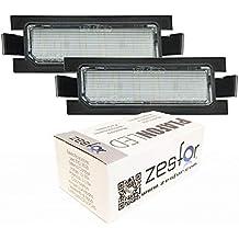 Zesfor Luces de matrícula LED para Hyundai I30 GD ...